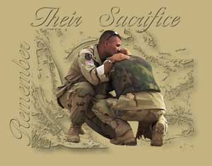 Our Troops Sacrifice
